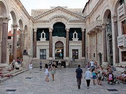 Il Palazzo di Diocleziano a Spalato (Croazia)