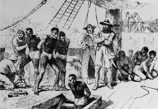 La tratta degli schiavi africani