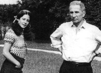 Dino Buzzati e sua moglie Almerina Antoniazzi.
