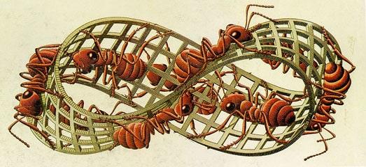Il concetto di infinito. Il nastro di Möbius.