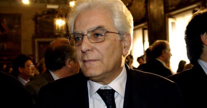 Sergio Mattarella - 12° Presidente della Repubblica Italiana.