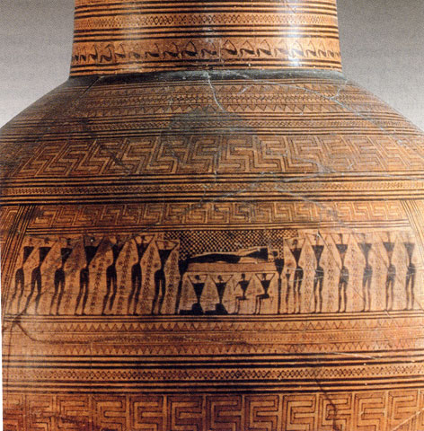 Il rito funebre nella Grecia antica.