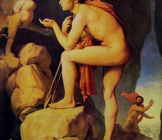 Jean-Auguste-Dominique Ingres, Edipo e la Sfinge, 1808, Parigi, Museo del Louvre.