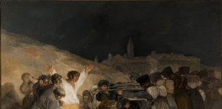 Francisco Goya, Il 3 maggio 1808: fucilazioni sul monte Pio, olio su tela 266x345 cm, 1814, Madrid, Museo del Prado
