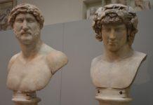 Omosessualità - Adriano e Antinoo, British Museum, Londra.