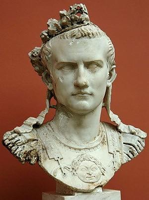 Busto di Gaio Cesare Germanico detto Caligola.