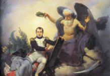Codice Civile di Napoleone - Napoleone rappresentato come un nuovo Giustiniano - allegoria di Jean Baptiste Mauzaisse (1833).