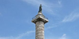 Colonna di Marco Aurelio, Roma.