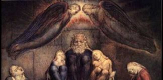 William Blake, Il conte Ugolino e i suoi figli in prigione, 1826. Cambridge, The Fitzwilliam Museum.