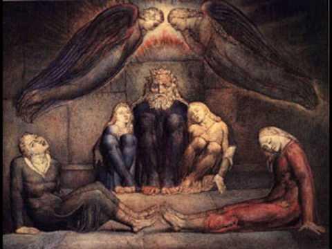 William Blake, Il conte Ugolino e i suoi figli in prigione, 1826. Cambridge, The Fitzwilliam Museum.