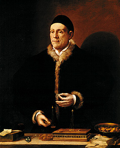 I primi banchieri - Dosso Dossi, Ritratto di Jakob Fugger, 1538.
