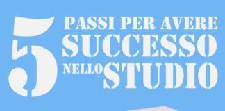 5 passi per avere successo nello studio