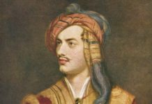Lord Byron, eroe romantico