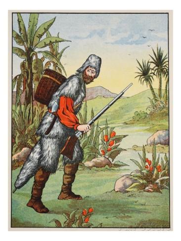 crusoe e l'isola