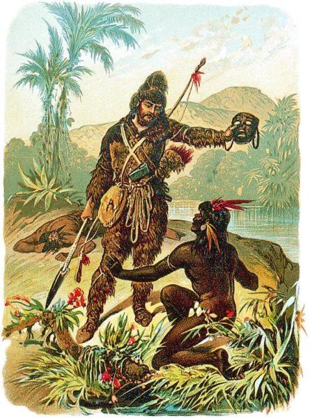 crusoe e venerdì