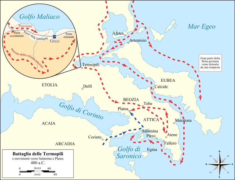 Seconda Guerra Persiana 480 Ac 479 Ac Studia Rapido