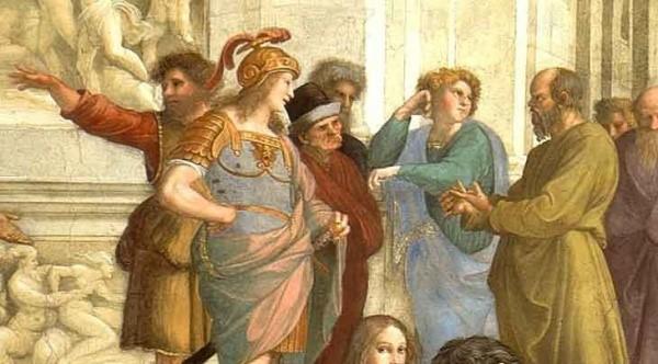 Socrate, particolare della Scuola di Atene