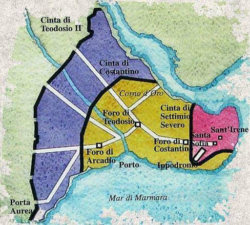 Costantinopoli, la nuova capitale di Costantino - Le ragioni della scelta