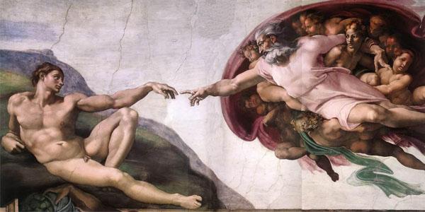 Creazione di Adamo, Michelangelo