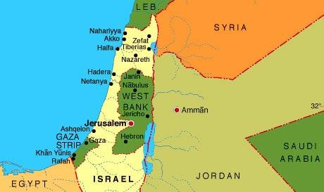la nascita d'Israele e la questione palestinese