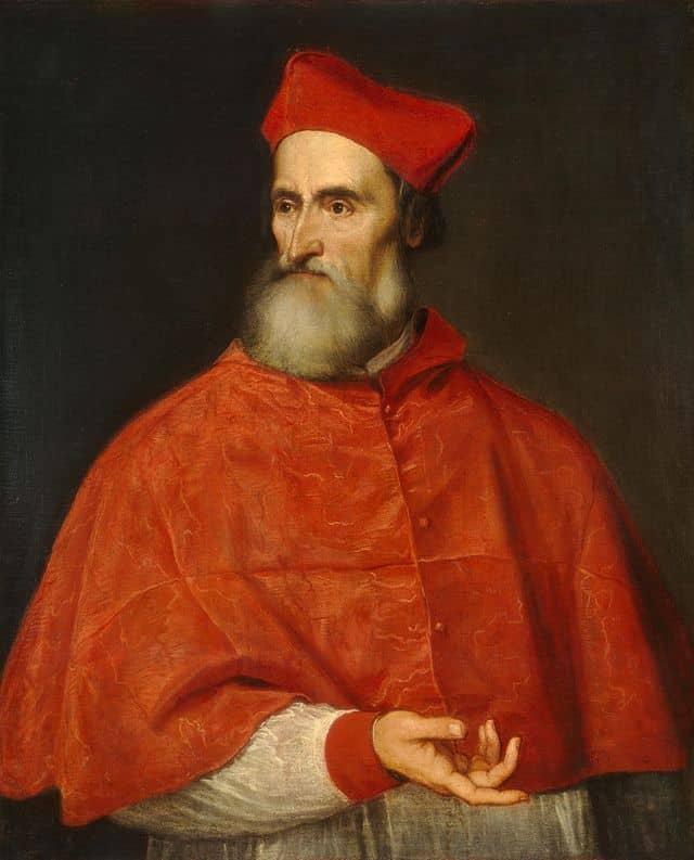 Pietro Bembo ritratto da Tiziano