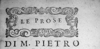 Prose della volgar lingua di Pietro Bembo