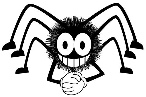 Perché il ragno non resta incollato nella sua tela?