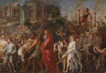 Trionfo romano (1630 circa) di Pieter Paul Rubens. Collocazione: National Gallery, Londra