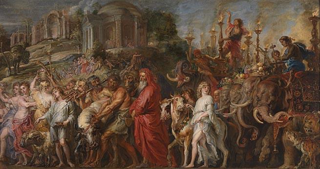 La cerimonia del Trionfo romano
