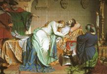 Tristano e Isotta - la morte di Tristano
