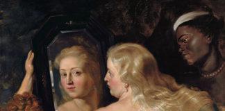 Pieter Paul Rubens, Venere allo specchio, 1613-1614 circa, olio su tavola, 123x98 cm, Vienna, Museo Liechtenstein