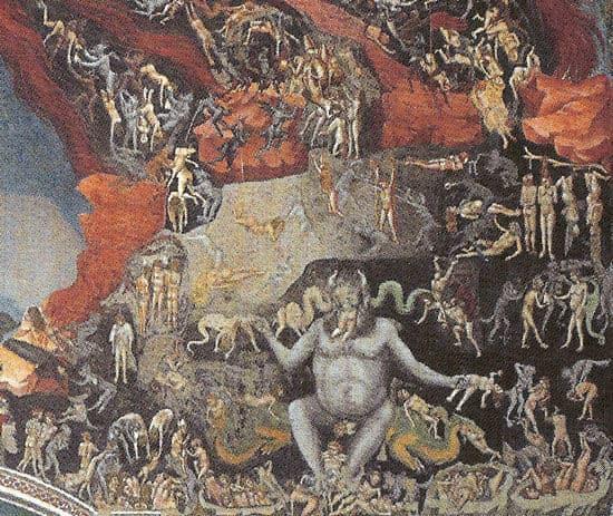 Giudizio universale di giotto nella cappella degli scrovegni di padova