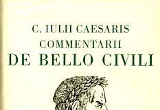 De bello civili, di Caio Giulio Cesare