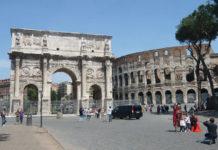 Arco di Costantino Roma, storia e descrizione
