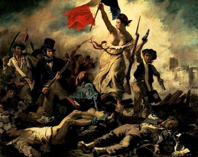 Delacroix, La libertà guida il popolo