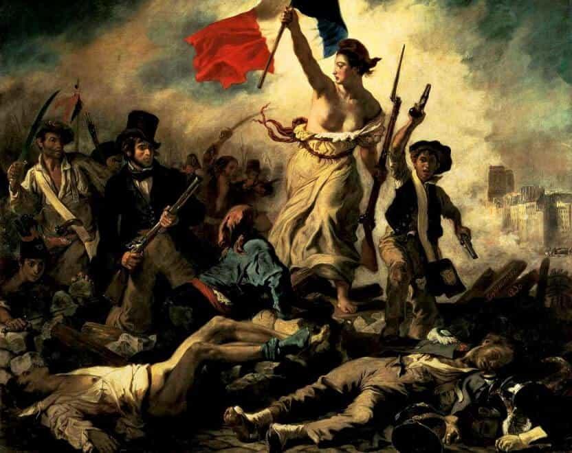 delacroix la libert guida il popolo il primo quadro On la liberta che guida il popolo
