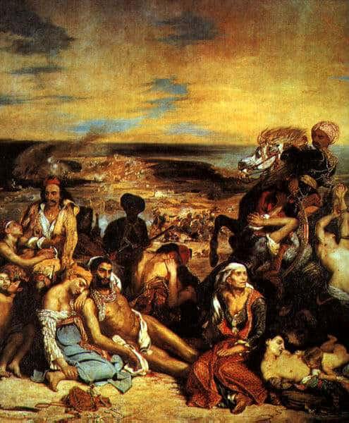Delacroix, il massacro di Scio
