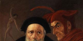 Il dottor Faust e Mefistofele, il diavolo