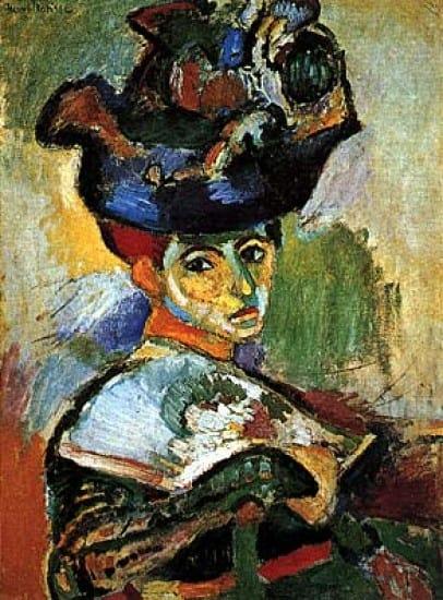 Donna con cappello di Matisse e La linea verde - Studia Rapido