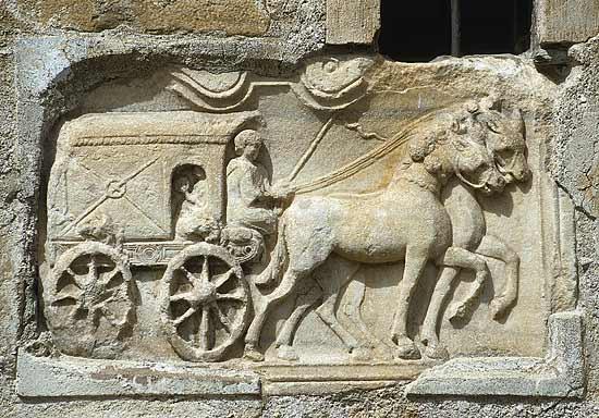 servizio postale romano