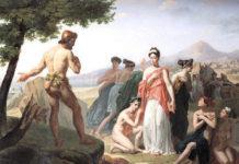 Odisseo e Nausicaa