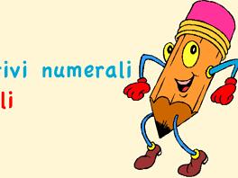 Aggettivi numerali ordinali nella grammatica italiana
