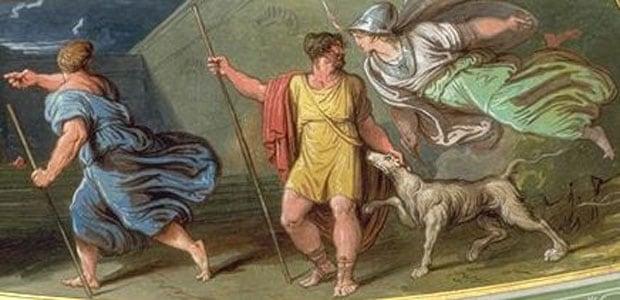 Odissea Libro XVII