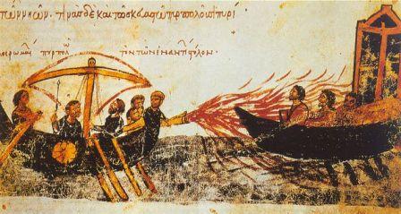 fuoco greco
