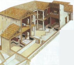 Le case della grecia antica studia rapido for 2 piani di cabina di ceppi di storia