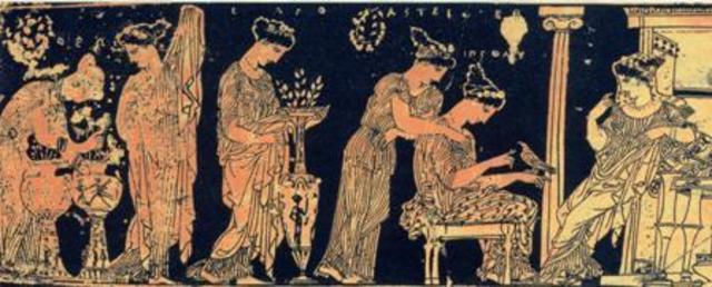 matrimonio e divorzio nella grecia antica