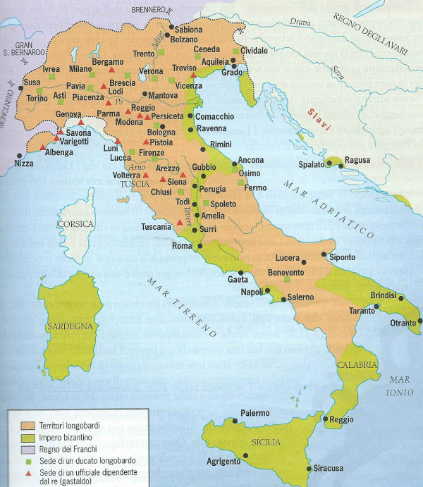 I Longobardi in Italia riassunto - Studia Rapido
