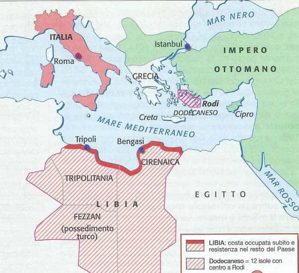 la conquista della Libia 1911-1912. Riassunto di Storia