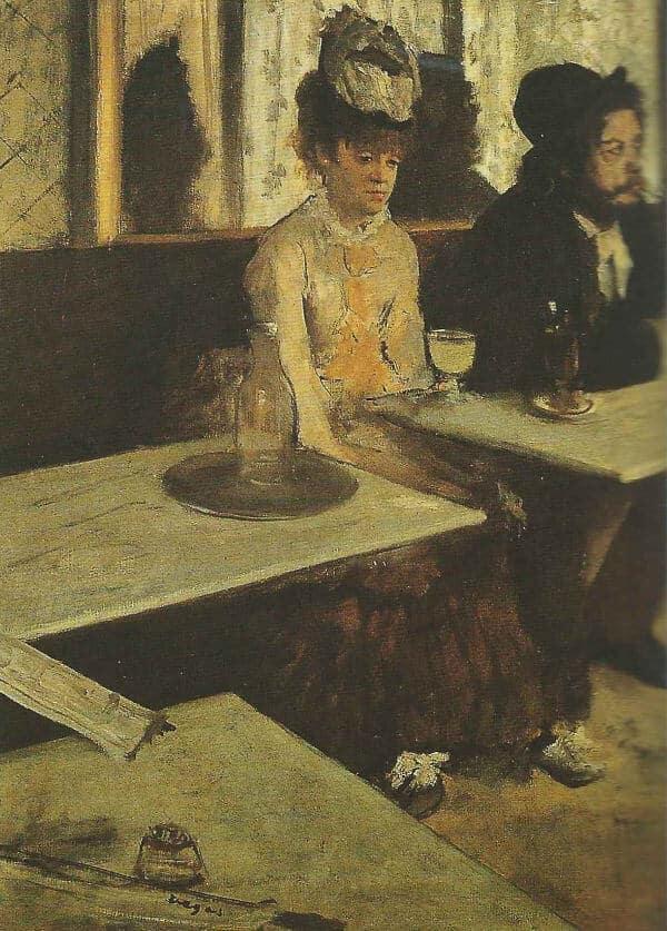 L'assenzio di Degas
