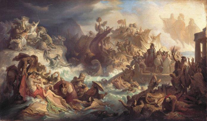 I Persiani tragedia di Eschilo
